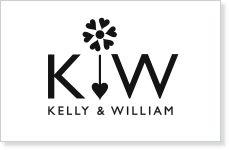 """""""Love Grows"""" wedding logo design."""