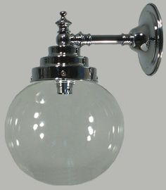 Chrome Madison Bistro Wall Light with 6 I don't know where I'd put it but I LOVE IT!!!