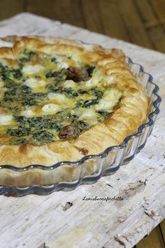 Tasty Bread Recipe, Bread Recipes, Italian Dishes, Italian Recipes, Pizza Rustica, Strudel, Savory Tart, Antipasto, Finger Foods