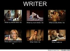 What writers really do