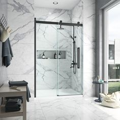 Bel Soft Close Shower Doors are engineered with soft-close technology, meaning you don't have to put up with noisy slamming ever again! Shop the new collection now at Lowe's.