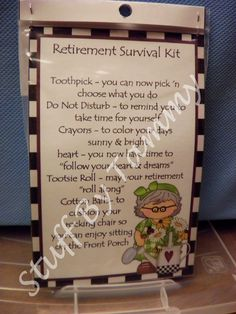 Retirement Survival Kit - (Female) - Other