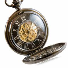 Discreet Montre A Gousset En Argent Massif French Silver Pocket Watch Other Watches Jewelry & Watches