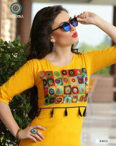 - offering Rayon Full Sleeve Kurti, Size: XXL at Rs in Surat, Gujarat. Kurti Patterns, Dress Patterns, Kurta Designs, Blouse Designs, African Fashion, Indian Fashion, Belle Epoque, Punjabi Dress, Punjabi Suits