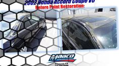 Maaco is here to help you transform your car and help you turn the car you drive, back into the car you love. Honda Vehicles, Honda Accord Coupe, Honda Cars, Car Vehicle, Painting, Painting Art, Paintings, Painted Canvas, Drawings