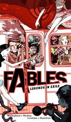 Fables Comic Vector by ~ArrowInYourThroat on deviantART