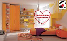 """Promozione camerette """"materasso in omaggio""""   Furno Arredamenti"""