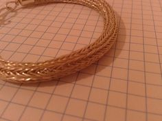 Viking knit chain bracelets by vikingknit