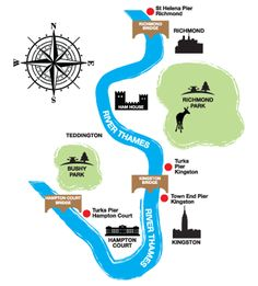 London boat trips on the River Thames; day boat trips in Kingston, Richmond and Hampton Court.