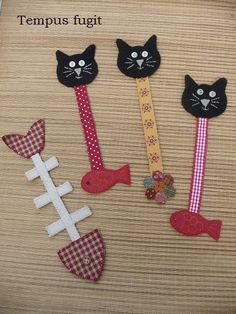 craft activities for adults diy projects / craft activities for adults + craft activities for adults diy projects + craft activities for adults creative Felt Bookmark, Bookmark Craft, Diy Bookmarks, Crochet Bookmarks, Adult Crafts, Cat Crafts, Diy Crafts To Sell, Sell Diy, Decor Crafts