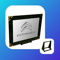 Citroen Engraved Mirror For all you Citroen Lovers out there! Affordable price at Only Wall Hanger, Cube, Adhesive, Nintendo, Lovers, Mirror, Gifts, Stuff To Buy, Presents