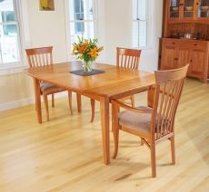 $1577 Boat Top | Vermont Shaker Extension Table | Handcrafted | Solid Wood