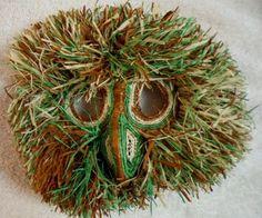 Wounaan Embera Chunga Mask Wide-Eyed Owl-Panama 16051322L