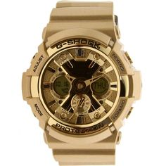 gold g shock watch - Bing Images Mens Sport Watches, Watches For Men, S Shock Watch, Gold G Shock, Timex Watches, Men's Watches, Amazing Watches, Casio G Shock, Casio Watch