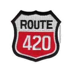 Route 420 Patch on Sale for $2.99 at HippieShop.com