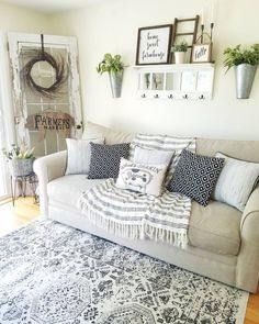 Shelves above couch, shelf behind couch, above the couch, living furniture, Living Room Decor Above Couch, Home Living Room, Living Room Furniture, Decor Above Sofa, Rustic Furniture, Living Area, Modern Furniture, Diy Interior, Shelves Above Couch