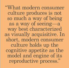 Jean-Christophe Agnew Consumer Culture, Ways Of Seeing