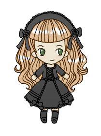 Kuro Lolita chibi
