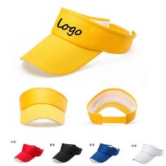 21c3c94e8a1 Visor Hats with imprint of your Brand Logo