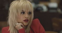 Rita Ora wearing Velour Lashes 'Doll Me Up' in her Black Widow music video.