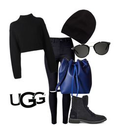 """""""The New Classics With UGG: Contest Entry"""" by kathrynchilders ❤ liked on Polyvore featuring UGG, rag & bone, DKNY, Gabriella Rocha, Carrera and ugg"""