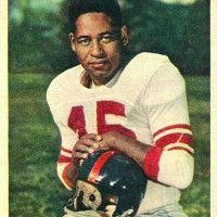 Emlen Tunnell New York Giants 1948-58 and Green Bay Packers 1959-61. HOF Class '67.