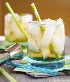 Ginger Whiskey Cocktail | Garnish with Lemon #whiskey
