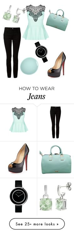 """""""Vivian"""" by office-girl on Polyvore featuring Alexander Wang, City Chic, Christian Louboutin, Rebecca Minkoff, NARS Cosmetics, Georg Jensen and StyleRocks"""