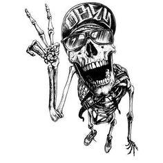 Skull Portraits by Joe King Tatto Skull, Dessin Old School, White Art, Black And White, Silkscreen, Tattoo Magazine, Skull Artwork, Dope Art, Skull And Bones