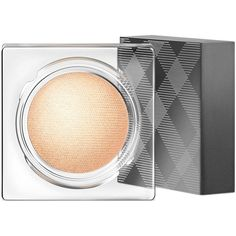 Burberry Eye Color Cream Sheer Gold -- 0.13 oz. ($30) ❤ liked on Polyvore featuring beauty products, makeup, eye makeup, eyeshadow, creamy eyeshadow, burberry eyeshadow and burberry