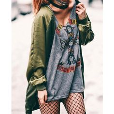 22 Grunge Outfits ideas with Fishnet Tights ❤ liked on Polyvore featuring intimates, hosiery, tights, fishnet tights, ripped stockings, fishnet pantyhose, fishnet stockings and ripped tights