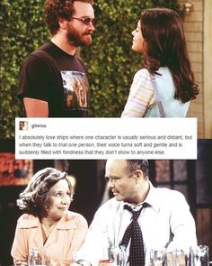 the two best couples on that 70s show....