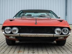 Lamborghini Espada, Sports Cars Lamborghini, Car Storage, Old Cars, Motor Car, Automobile, Auction, Vehicles, Car Stuff