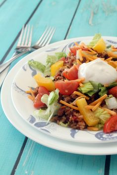 Tex Mex Salad recipe—a flavorful dish fit for lunch or dinner.