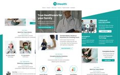 iHealth– Multipurpose Healthcare Email Template Responsive Newsletter Template Email Templates, Newsletter Templates, Mental Health Clinic, Responsive Email, Nutrition Store, Newsletter Design, View Video, Email Design, Medical Center
