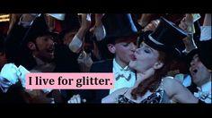 I live for glitter. #Greek #Sorority #Crafting #Glitter