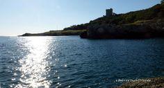 il mare - 5 foto - Torre dell'Alto Pizzo dell'aspide Gallipoli La Montagna spaccata vista dalla Croce ed altro dal salento