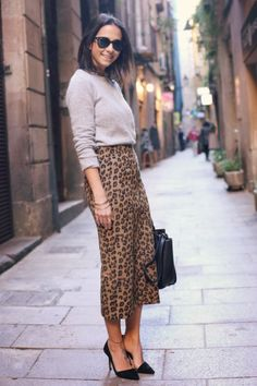 textured leopard print