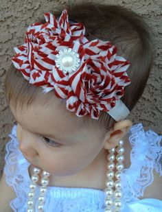 15 OFF Entire Shop. Baby Christmas headband by AddiPaigeBowtique, $8.00
