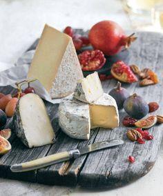 Cheese Figs Pomegranates