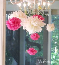 Amazing Tissue Paper Flowers Tutorial ... gorgeous!