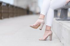 Millennial pink for spring? Nude Shoes, Pumps, Heels, Playing Dress Up, Espadrilles, Cool Outfits, Walking, Booty, Sorority
