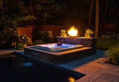 You can set your Long Island Hot Tub spa outdoors on a deck or patio or have it built into an attractive above-ground custom surround.