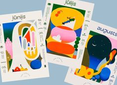 Riga-based illustrator Roberts Rurans on the evolution of his lively style Flat Illustration, Character Illustration, Postcard Art, Its Nice That, Mystery, Traditional Paintings, Photoshop, Art Graphique, Freelance Illustrator