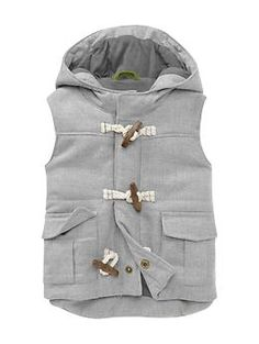 Twill toggle vest | Gap