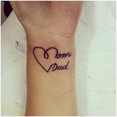 Dad Tattoos On Memorial Tattoos Modern tattoos ideas design, Click t. - Top 500 Best Tattoo Ideas And Designs For Men and Women Modern Tattoos, Pop Art Tattoos, Feather Tattoos, Trendy Tattoos, Cute Tattoos, Hand Tattoos, Mum And Dad Tattoos, Family Tattoos, Tattoos For Daughters