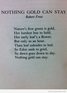 Robert Frost poem quote
