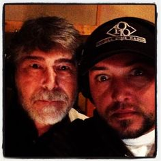 In the studio with my favorite band....... Alabama!!!!!  - J.A. (A little bug eyed and scary, but fun! :)