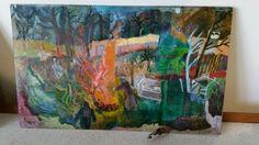 Gardens, Painting, Art, Art Background, Outdoor Gardens, Painting Art, Kunst, Paintings, Performing Arts