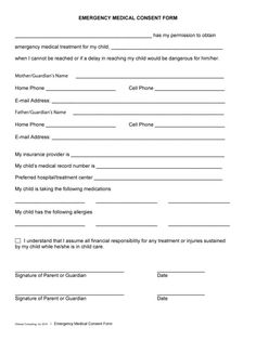 First grade entrance exam first grade pinterest entrance exam medical consent form 04 fandeluxe Image collections